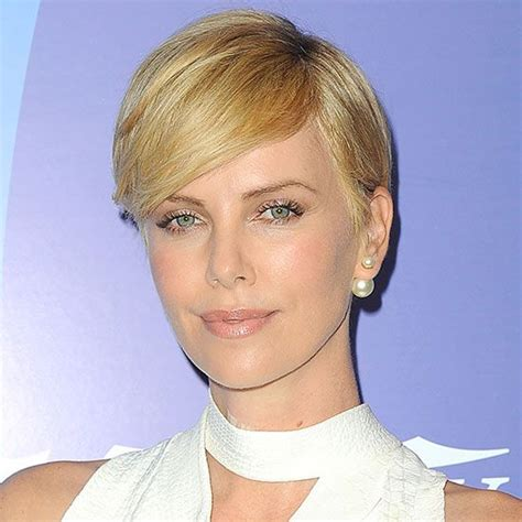 short old fashioned haircuts charlize theron sporting an carpets julianne hough and makeup on pinterest