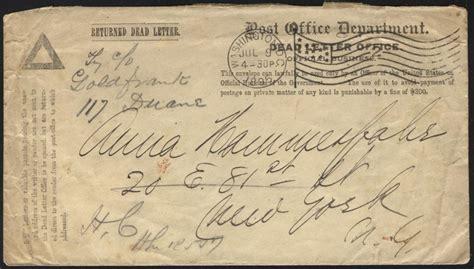 letters to the dead philaseiten de usa penalty belege dienstsachen 1486
