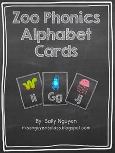 printable zoo phonics cards zoo phonics cards work pinterest zoo phonics