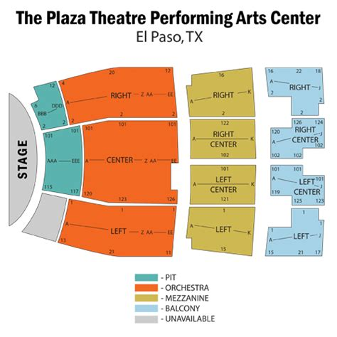 abraham chavez theatre seating chart chicago march 13 tickets el paso the plaza theatre