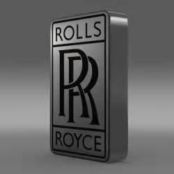 Rolls Royce Log Rolls Royce Logo 3d Model Max Obj 3ds Fbx C4d Lwo