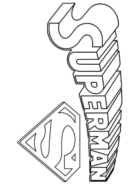 superman coloring superman logo coloring pages free printable superman logo