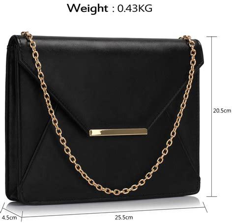 Flap Clutch lse00307 black flap clutch purse