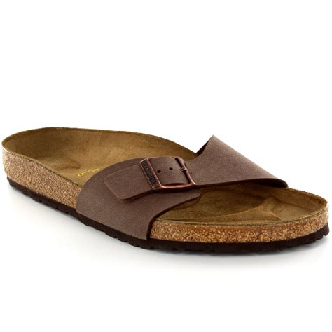 birkenstock sandals uk mens birkenstock madrid slip on buckle summer