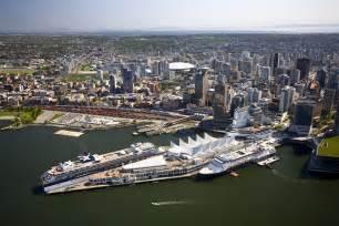Car Rental In Vancouver Cruise Port Vancouver S Alaska Cruise Season Winds World