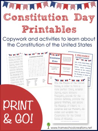The Constitution Of The United States Worksheet by Constitution Day Worksheets Trivia Homeschool And