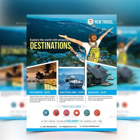 Tour Design Template by Travel Flyer Designs Design Trends Premium Psd Vector
