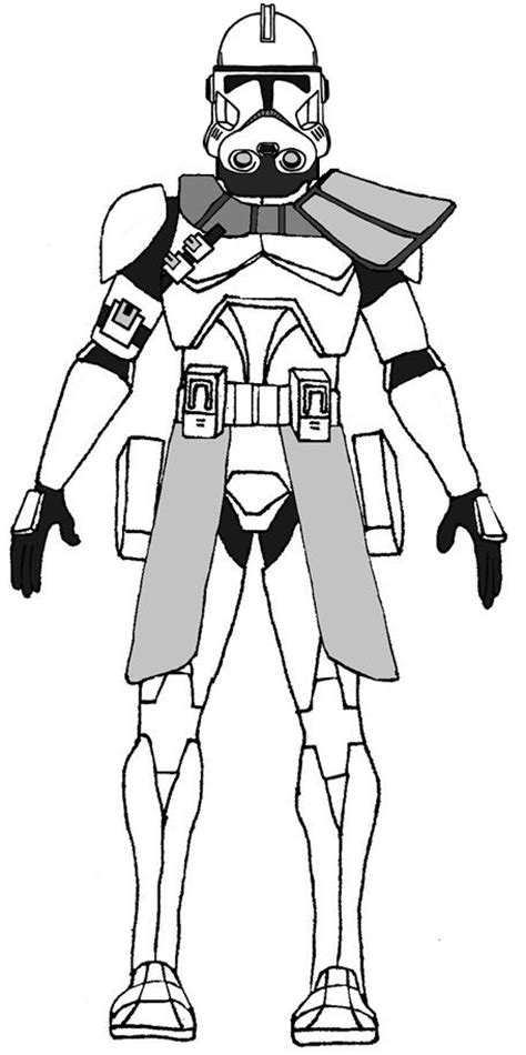 Star Wars Clone Trooper Phase 2 Coloring Pages Coloring Pages Clone Trooper Coloring Page