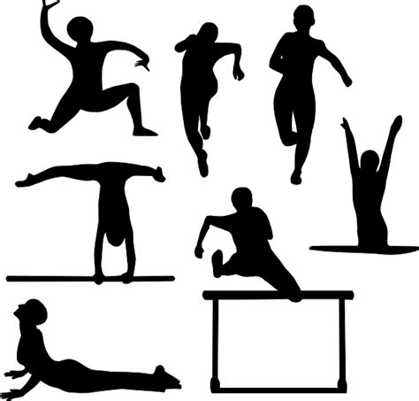 clipart sport sports silhouette clip at clker vector clip