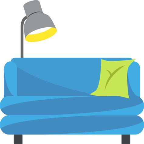 couch emoji list of emoji one object emojis for use as facebook stickers email emoticons sms emoji co uk