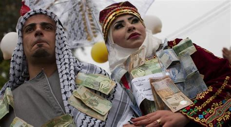 Arbiah Syari improbable west bank wedding for syrian palestinian the times of israel