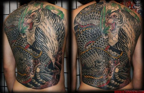 tiger dragon tattoo 60 tiger tattoos for back