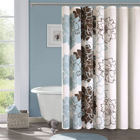 Decorated Bathrooms With Shower Curtains Bathroom Decorating Ideas Shower Curtain Home Combo