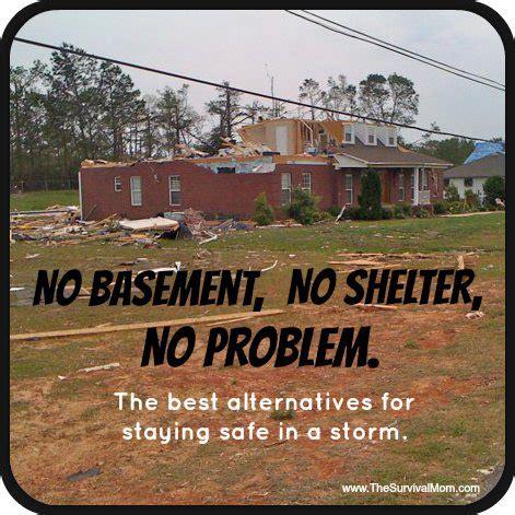 Small Basement Plans by Tornado Survival No Shelter No Basement No Problem Survival Mom