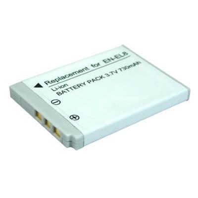 Batere Kamera baterai kamera nikon en el8 oem gray jakartanotebook