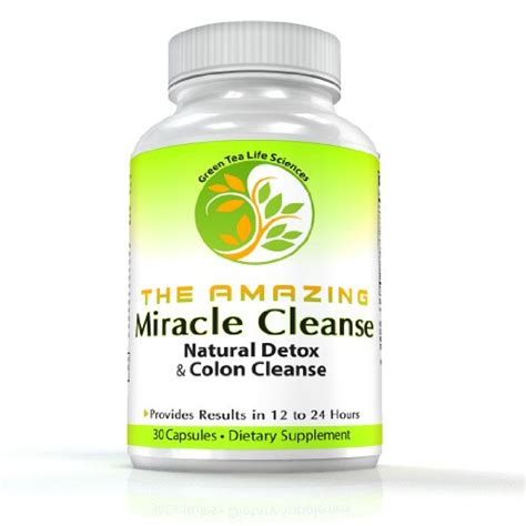 Safe All Detox Cleanse by The Amazing Miracle Cleanse Premier Colon Cleanse And