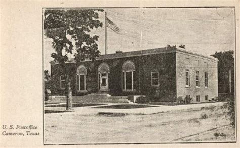 Post Office Cameron by Photos Of Early Milam County
