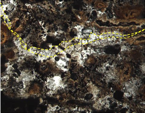 smectite thin section figure f43 quartz pyrite veining with well developed
