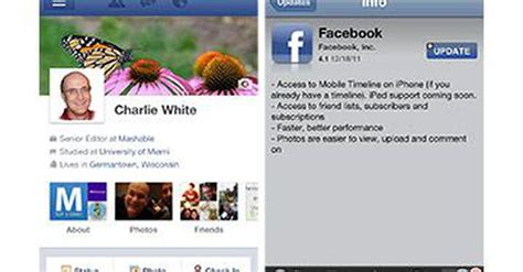 facebook timeline mashable facebook timeline headed to ipad in january video
