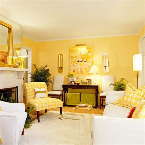 yellow living room walls how to use yellow in interior design