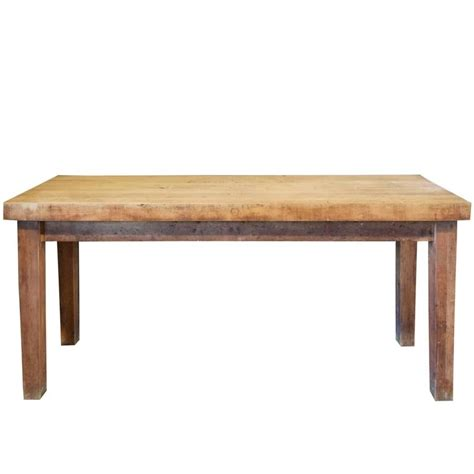 butcher table for sale butcher block table at 1stdibs