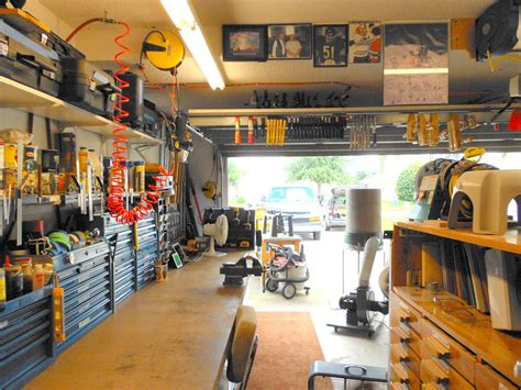 garage shops eric s efficient garage shop the wood whisperer