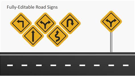road template free roadmap slides for powerpoint slidemodel