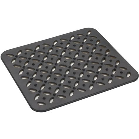 kitchen sink mat black in sink mats