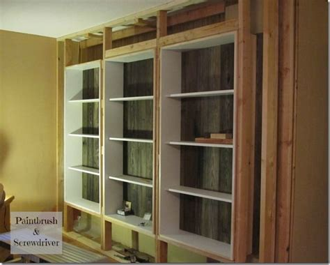 Diy Built In Bookcases Home Decorating Pictures Built In Bookcases Diy