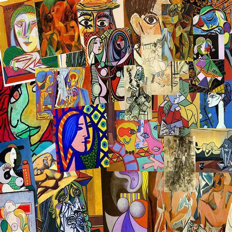 collage cuadros collage de picasso digital art by galeria zullian trompiz