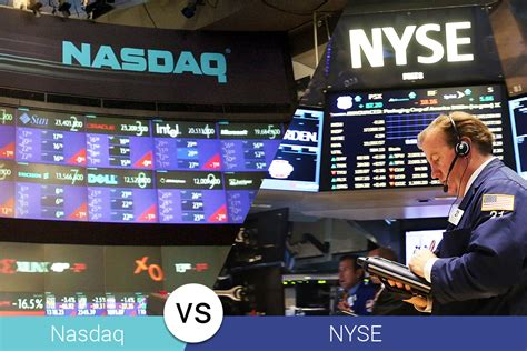 best nyse stocks nasdaq vs nyse why companies choose one the other