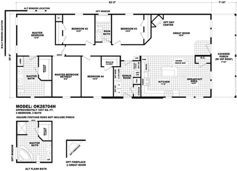 modular home floor plans oklahoma cavco home center south tucson in tucson arizona
