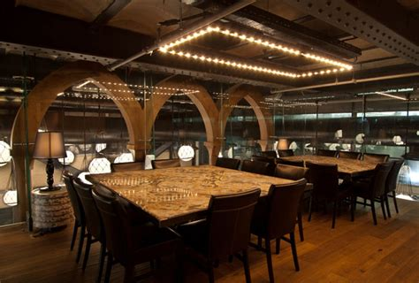 seafood restaurant  elements  arab architecture interiorzine