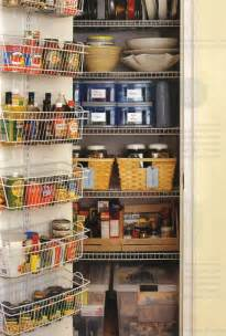 Kitchen Pantry Closet Organization Ideas Organized Kitchen Pantry All Things G Amp D