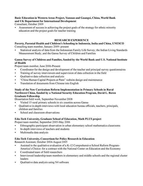 Curriculum Vitae Educator Template Curriculum Vitae Curriculum Vitae Sle Education
