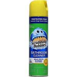 scrubbing bubbles antibacterial lemon bathroom cleaner 22
