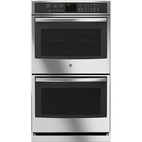 Oven Racks Lowes by Shop Ge Profile Self Cleaning Convection Electric Wall Oven Stainless Steel Common 30