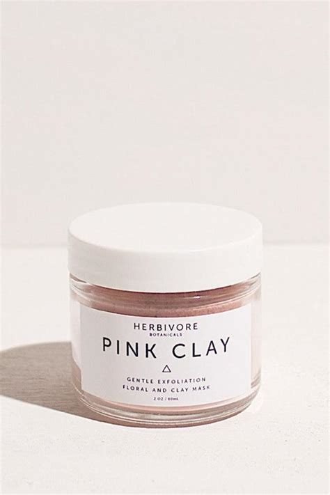 Pink Clay Mask herbivore botanicals pink clay mask from florida by market
