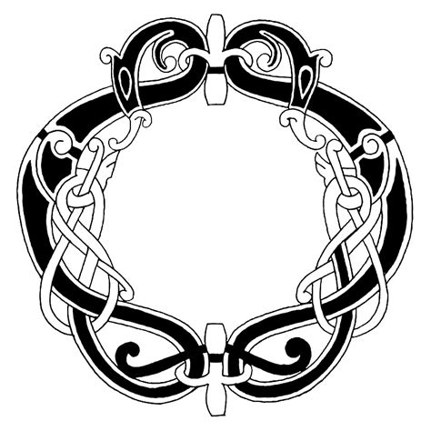 Celtic Knot Clipart Tribal Pencil And In Color Celtic Celtic Circle Tattoos Designs