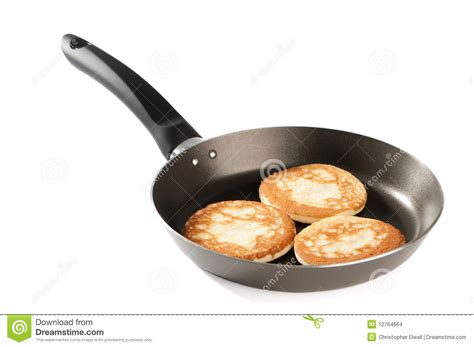 in pan pancakes in frying pan stock photo image of style dessert 12764664
