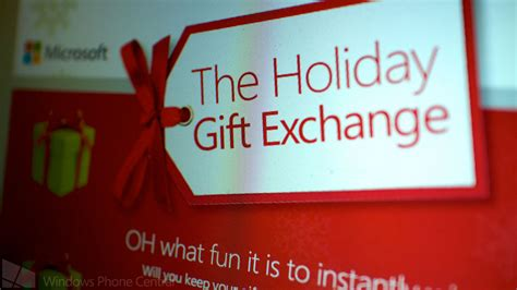 microsoft launches holiday gift exchange enter daily to