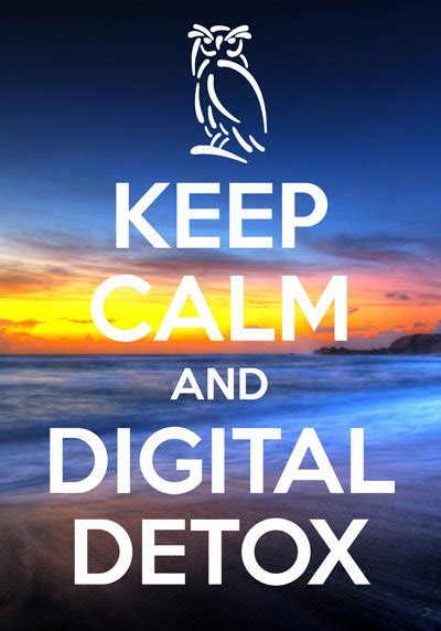 Digatal Detox C by Digital Detox Or Not The At South Lytchett Manor