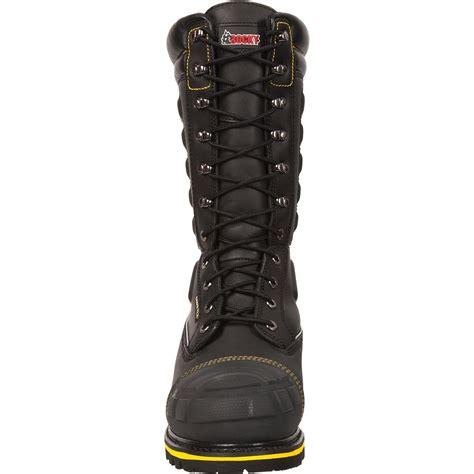 rocky puncture resistant tex met guard boot ham