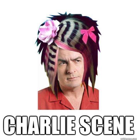Charlie Meme - charlie scene on tumblr
