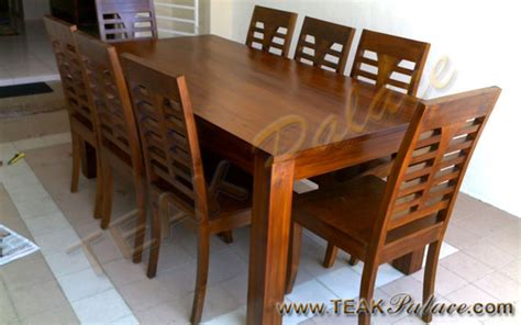 Meja Makan Bahan Jati jati sebagai bahan baku mebel minimalis murah kursi sofa