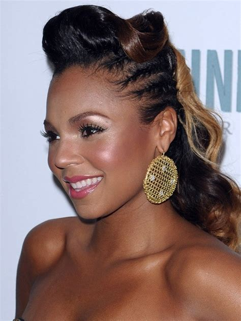 updo s for american hair updos for african american women african american half