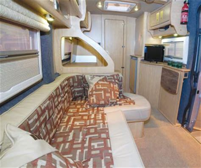Kitchen Cabinet Tv by Three Of The Best Van Conversions Caravan Guard