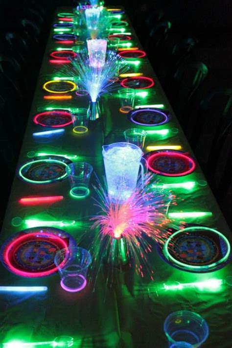 neon themed events 21 awesome neon glow in the dark party ideas neon glow