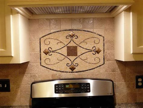 decorative tile inserts kitchen backsplash home design ideas