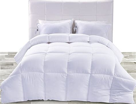 fiberfill comforters down alternate comforter white queen all period